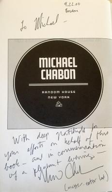 Chabon title page